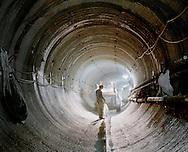Work in north tunnel, 12 ft. in diameter, nov. 2006.