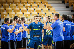 during friendly basketball match between Slovenia and Croatia , on September 8, 2018 in Arena Zlatorog, Celje, Slovenia. Photo by Ziga Zupan / Sportida