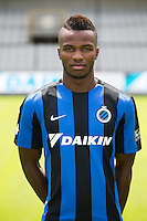 Club's Boli Bolingoli Mbombo poses for the photographer during the 2015-2016 season photo shoot of Belgian first league soccer team Club Brugge, Friday 17 July 2015 in Brugge