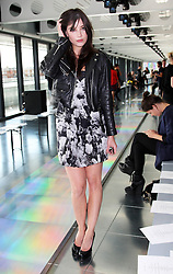 Daisy Lowe  at the Christopher Kane show  at London Fashion Week for Spring/Summer 2013, Monday, September 17th 2012.  Photo by: Stephen Lock / i-Images