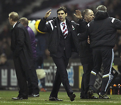 Middlesbrough Manager, Aitor Karanka - Photo mandatory by-line: Robbie Stephenson/JMP - Mobile: 07966 386802 - 17/03/2015 - SPORT - Football - Derby - iPro Stadium - Derby County v Middlesbrough - Sky Bet Championship