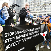 Activists anger Japan crafty pulling out of IWC | International Whaling Commission, London, UK
