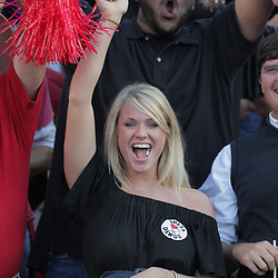 25 October 2008:  A Georgia Bulldogs fan during the Georgia Bulldogs 52-38 victory over the LSU Tigers at Tiger Stadium in Baton Rouge, LA.
