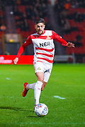 Danny Andrew of Doncaster Rovers (3) in action during the EFL Sky Bet League 1 match between Doncaster Rovers and Barnsley at the Keepmoat Stadium, Doncaster, England on 15 March 2019.