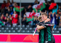 ANTWERP - BELFIUS EUROHOCKEY Championship.   England v Wales (2-2)  men .  Rhodri Furlong (Wales) scored and celebrating de goal. WSP/ KOEN SUYK