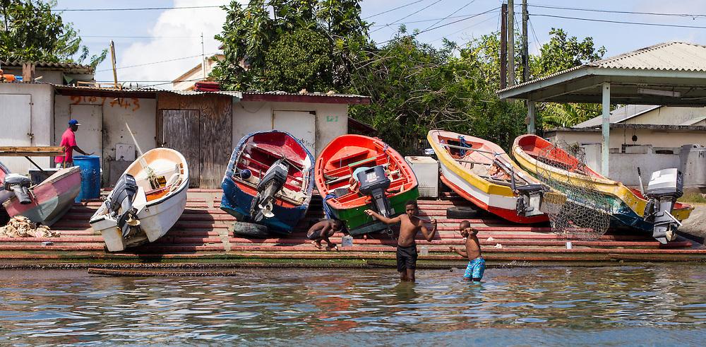 Rodney Bay, Saint Lucia. © Allen McEachern.