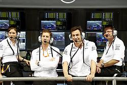 November 24, 2017 - Abu Dhabi, United Arab Emirates - Motorsports: FIA Formula One World Championship 2017, Grand Prix of Abu Dhabi, .Toto Wolff (AUT, Mercedes AMG Petronas Formula One Team) (Credit Image: © Hoch Zwei via ZUMA Wire)