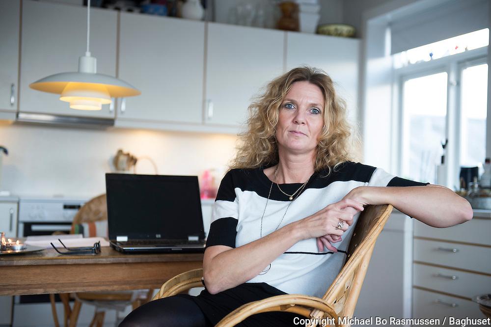 Pernille Ørnberg, jordmoder. Om at blive skilt. Foto: © Michael Bo Rasmussen / Baghuset. Dato: 29.10.13
