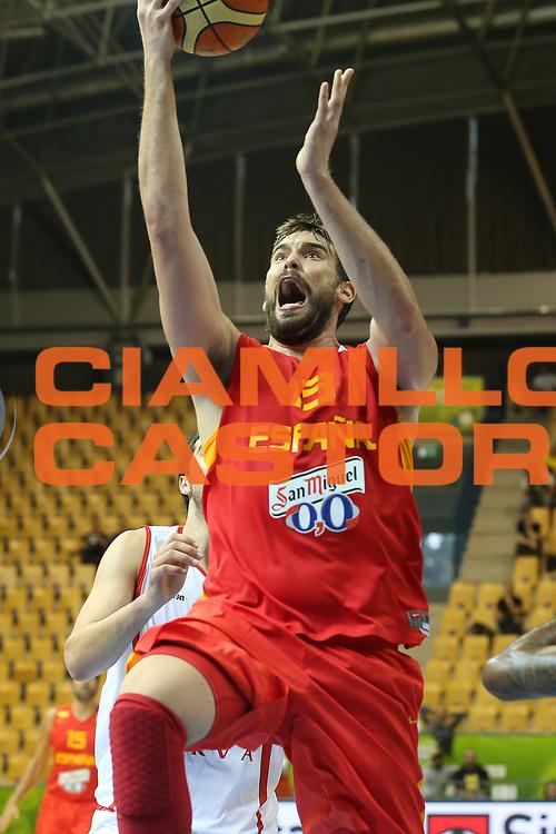 DESCRIZIONE : Celje Slovenia Eurobasket Men 2013 Preliminary Round Georgia Spagna Georgia Spain<br /> GIOCATORE : Marc Gasol<br /> CATEGORIA : tiro shot<br /> SQUADRA : Spagna Spain<br /> EVENTO : Eurobasket Men 2013<br /> GARA : Georgia Spagna Georgia Spain<br /> DATA : 09/09/2013 <br /> SPORT : Pallacanestro <br /> AUTORE : Agenzia Ciamillo-Castoria/ElioCastoria<br /> Galleria : Eurobasket Men 2013<br /> Fotonotizia : Celje Slovenia Eurobasket Men 2013 Preliminary Round Georgia Spagna Georgia Spain<br /> Predefinita :