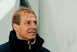 Jurgen Klinsmann, head coach of USA, during friendly football match between National teams of USA and Slovenia, on November 15, 2011 in SRC Stozice, Ljubljana, Slovenia.  USA won 3:2. (Photo By Matic Klansek Velej / Sportida.com)