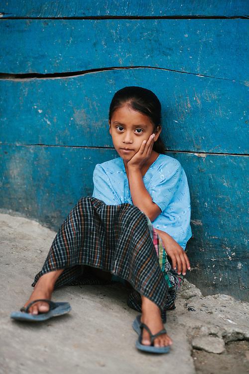 Marleni Ingrid Mucu Chob, aged 8. San Joaquin, Guatemala