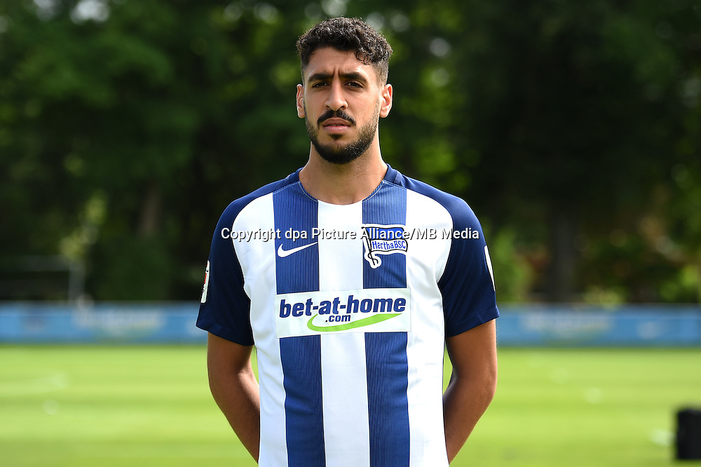 German Bundesliga - Season 2016/17 - Photocall Hertha BSC on 12 June 2016 in Berlin, Germany: Tolga Cigerci. Photo: Britta Pedersen/dpa | usage worldwide