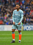 Eden Hazard (10) of Chelsea during the Premier League match between Cardiff City and Chelsea at the Cardiff City Stadium, Cardiff, Wales on 31 March 2019.