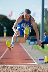 MARINOS Aristotelis, 2014 IPC European Athletics Championships, Swansea, Wales, United Kingdom