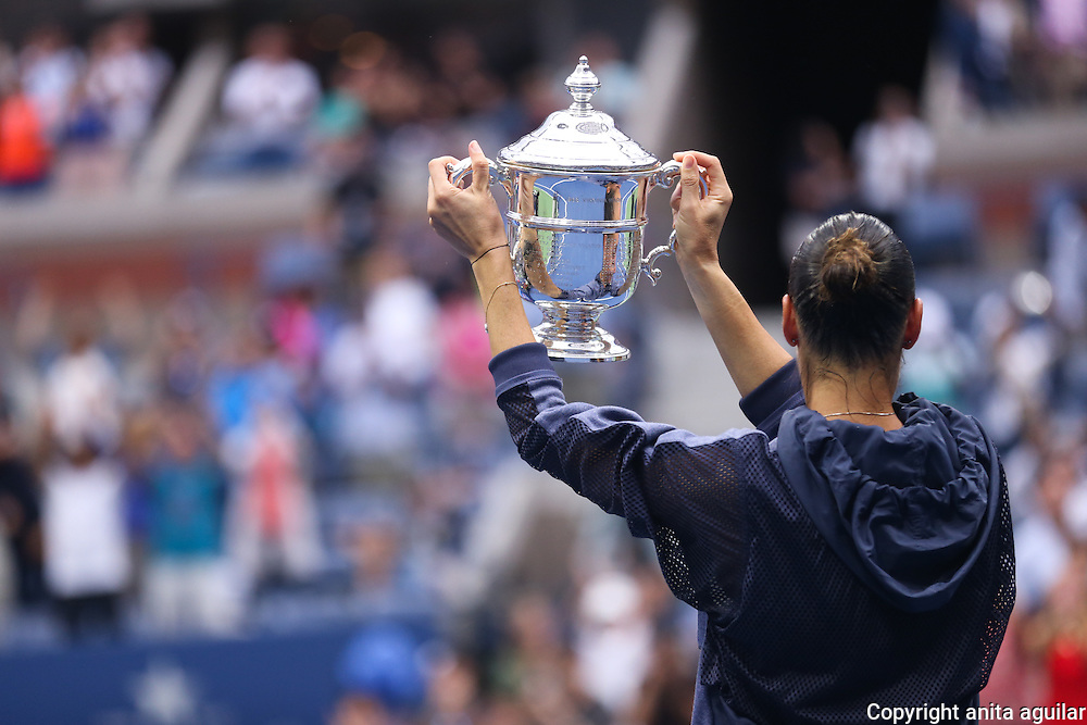 US Open 2015 Ladies Final:<br />