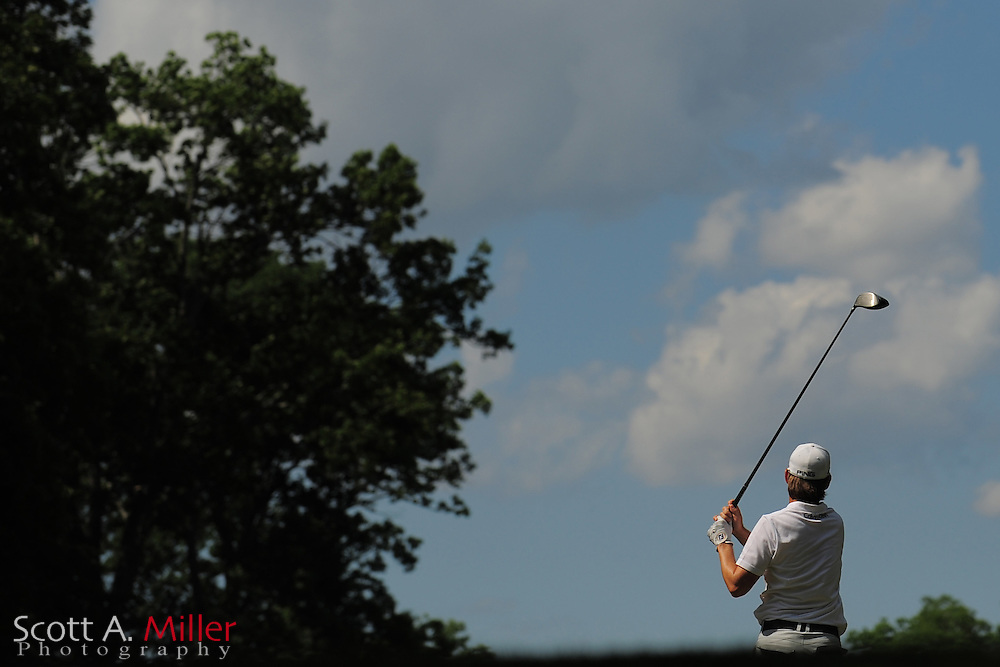 Heath Slocum during the third round of the Wells Fargo Championship at the Quail Hollow Club on May 5, 2012 in Charlotte, N.C. ..©2012 Scott A. Miller.