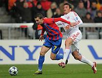 v.l. Janos Szekely Steaua , Massimo Oddo<br /> <br /> Champions League Bayern Muenchen - Steaua Bukarest<br /> Bayern München - Steaua Bukarest<br /> <br /> Norway only