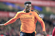 Dominic Iorfa during the Sky Bet Championship match between Wolverhampton Wanderers and Bristol City at Molineux, Wolverhampton, England on 8 March 2016. Photo by Daniel Youngs.