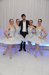 DOUGLAS BOOTH and ENB Dancers at the pre party for the English National Ballet's Christmas performance of The Nutcracker held at the St.Martin's Lane Hotel, St.Martin's Lane, London on 14th December 2011.
