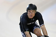 Ethan Mitchell at the Avanti BikeNZ Classic, Avantidrome, Cambridge, New Zealand, Thursday, September 18, 2014, Credit: Dianne Manson/BikeNZ