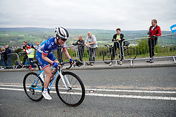 Rozanne Slik (NED) with 250 metres to go on the Cow & Calf climb at ASDA Tour de Yorkshire Women's Race 2018 - Stage 2, a 124 km road race from Barnsley to Ilkley on May 4, 2018. Photo by Sean Robinson/Velofocus.com