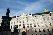 Hofburg (former Royal Palace of the Habsburgs).