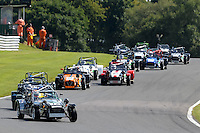 #72 Steven McMaster Caterham 7 Classic 1600 during the Caterham Graduates Championship - Super / Classic Classes at Oulton Park, Little Budworth, Cheshire, United Kingdom. August 06 2016. World Copyright Peter Taylor/PSP.