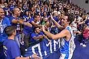 DESCRIZIONE : Beko Legabasket Serie A 2015- 2016 Dinamo Banco di Sardegna Sassari -Vanoli Cremona<br /> GIOCATORE : Giacomo Devecchi Commando Ultra' Dinamo<br /> CATEGORIA : Fair Play Ritratto Esultanza Ultras Tifosi Spettatori Pubblico<br /> SQUADRA : Dinamo Banco di Sardegna Sassari<br /> EVENTO : Beko Legabasket Serie A 2015-2016<br /> GARA : Dinamo Banco di Sardegna Sassari - Vanoli Cremona<br /> DATA : 04/10/2015<br /> SPORT : Pallacanestro <br /> AUTORE : Agenzia Ciamillo-Castoria/L.Canu