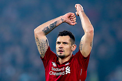 Dejan Lovren of Liverpool celebrates the win over Newcastle United - Mandatory by-line: Robbie Stephenson/JMP - 26/12/2018 - FOOTBALL - Anfield - Liverpool, England - Liverpool v Newcastle United - Premier League