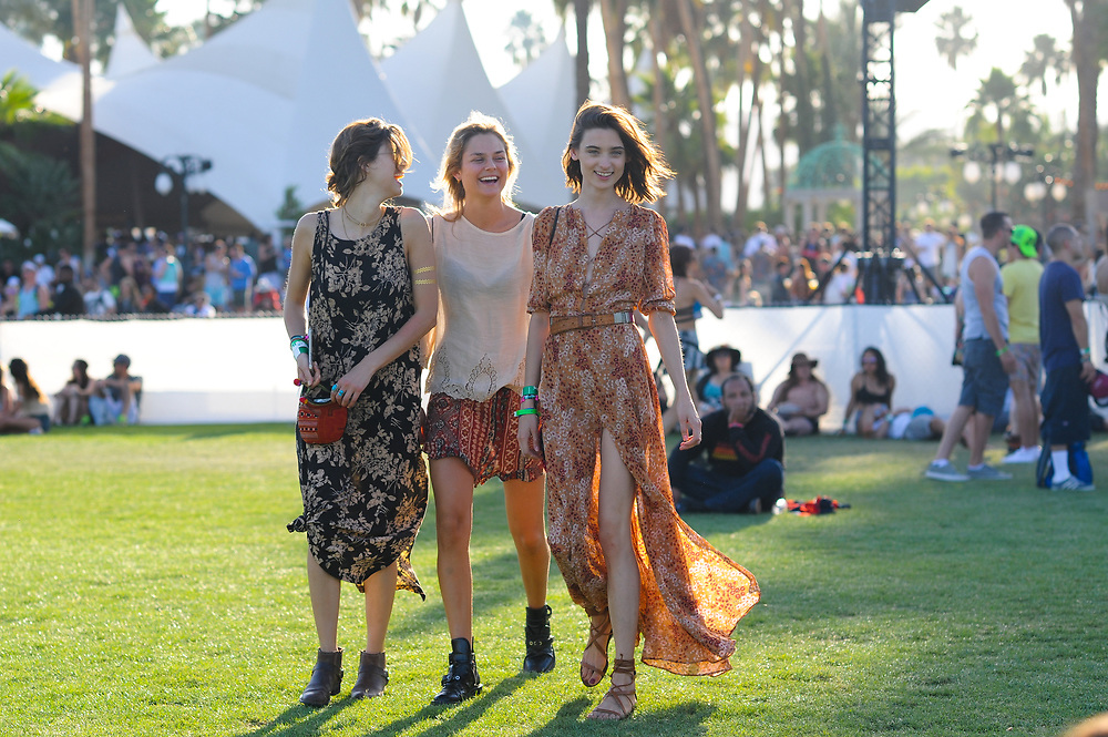 Girls in Florals, Coachella Day 2