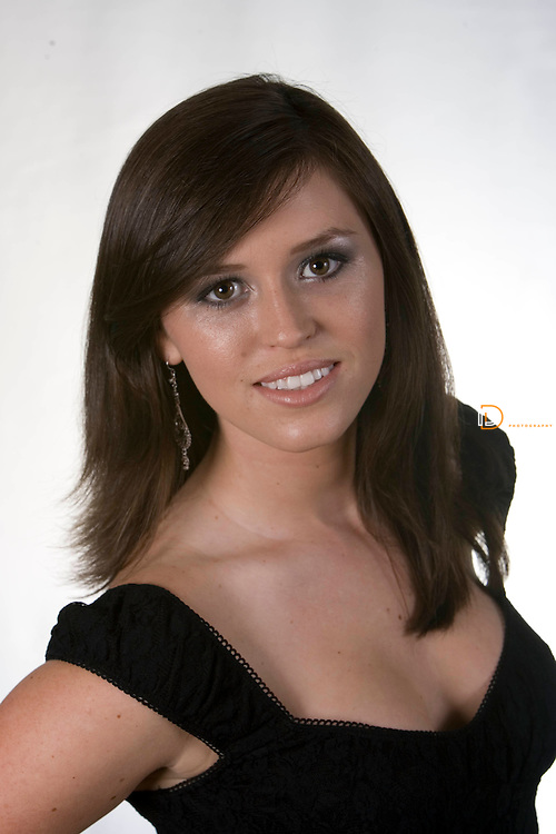 Margaret Harrington poses for headshots for Miss Teen Virginia Pageant. Photography By David Duncan Photo.com