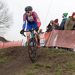 11-01-2020: Wielrennen: NK Veldrijden: Rucphen <br />Gerard Haasjes