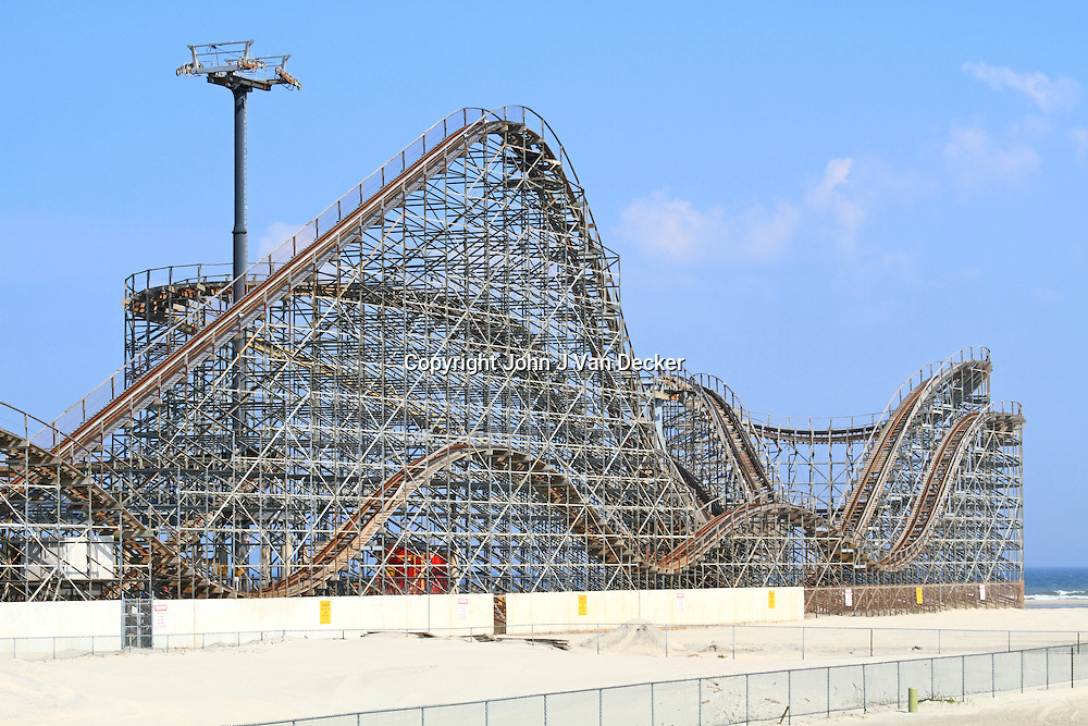 Great White Wooden Rollercoaster, Wildwood, New Jersey