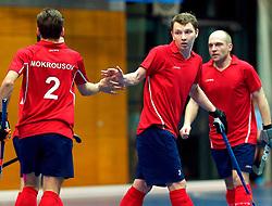 LEIZPIG - WC HOCKEY INDOOR 2015<br /> Foto:RUS v CAN (Pool B)<br /> MOKROUSOV Evgeny scored a goal<br /> FFU PRESS AGENCY COPYRIGHT SANDER UIJLENBROEK