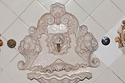 Details of the interior of Palacio de Gaviria (Gaviria Palace) in calle arenal, madrid, spain