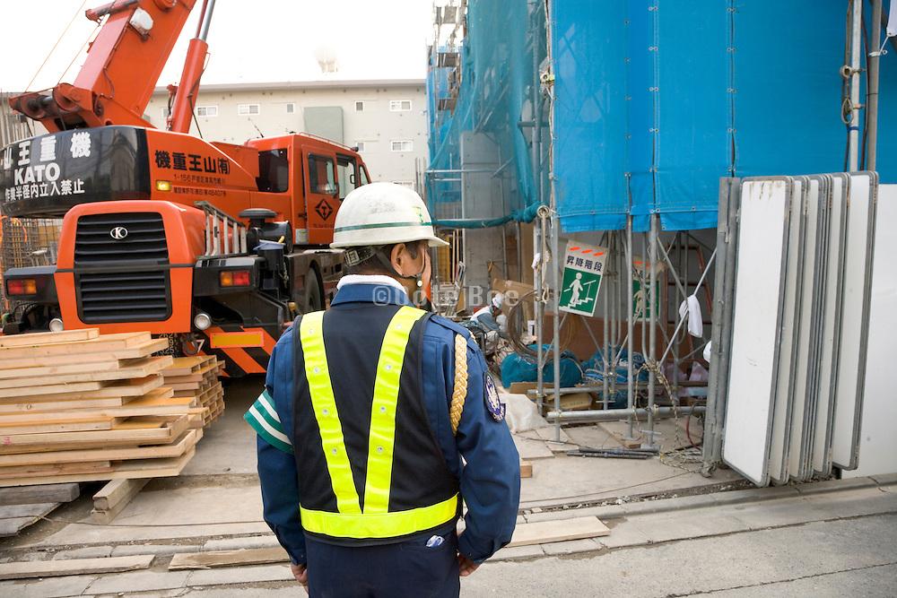 entrance to a building construction site Japan