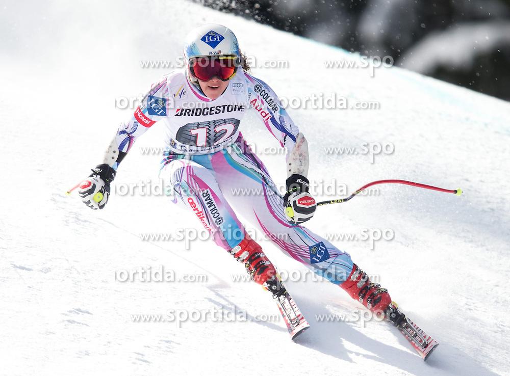 06.03.2015, Kandahar, Garmisch Partenkirchen, GER, FIS Weltcup Ski Alpin, Abfahrt, Damen, 1. Trainingslauf, im Bild Tina Weirather (LIE) // Tina Weirather of Liechtenstein during 1st training run for the ladie's Downhill of the FIS Ski Alpine World Cup at the Kandahar course, Garmisch Partenkirchen, Germany on 2015/03/06. EXPA Pictures © 2015, PhotoCredit: EXPA/ Johann Groder
