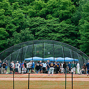 June 9, 2010 - Bronx, NY : The fields at Van Cortlandt Park are finally open to the public again after well over a year of construction.  On June 9, the NYPD turned out to compete in a city-wide charity softball tournament.