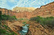 Arizona, Supai, Havasupai Nation.  Reservation, Grand Canyon region, Havasu Canyon, Havasu River tributary of Colorado River