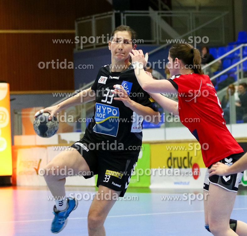 28.03.2015, BSFZ Suedstadt, Maria Enzersdorf, AUT, ÖHB Cup, Finale Frauen, Hypo NÖ vs SSV Dornbirn Schoren, im Bild Gabriela Rotis-nagy (Hypo NÖ)// during the ÖHB Cup women's finale Match between Hypo NÖ and SSV Dornbirn Schoren at the BSFZ Suedstadt, Maria Enzersdorf, Austria on 2015/03/28, EXPA Pictures © 2015, PhotoCredit: EXPA/ Sebastian Pucher