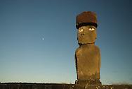 Ahu Ko Te Riko, Tahai Ceremonial Site, UNESCO World Heritage Site, Easter Island.