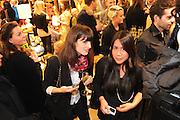SHANNON KILGORE; LORELEI MARFIL, Jonathan Adler Store opening. Sloane St. London. 16 November 2011. <br /> <br />  , -DO NOT ARCHIVE-© Copyright Photograph by Dafydd Jones. 248 Clapham Rd. London SW9 0PZ. Tel 0207 820 0771. www.dafjones.com.