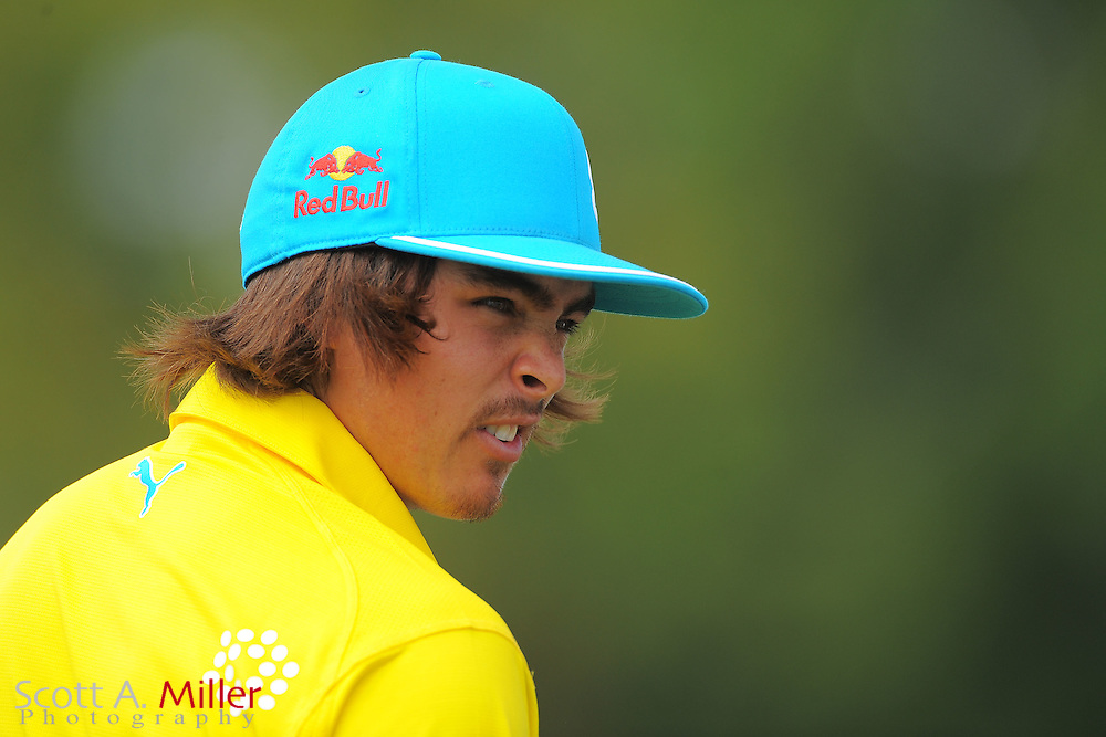 Rickie Fowler during the first round of the Honda Classic at PGA National on March 1, 2012 in Palm Beach Gardens, Fla. ..©2012 Scott A. Miller.