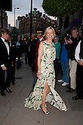 Lady Helen Taylor arriving at the mandarin Oriental Gala pre-royal  wedding dinner held at the Mandarin Oriental Hyde Park. LONDON.  on April 28-DO NOT ARCHIVE-© Copyright Photograph by Dafydd Jones. 248 Clapham Rd. London SW9 0PZ. Tel 0207 820 0771. www.dafjones.com.