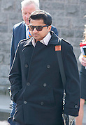 08/04/2013  Praveen Halappanavar arriving at Galway Coroner Court for the Inquest into the death of his wife Savita at Galway University Hospital. Picture:Andrew Downes..