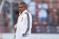 August 4, 2010; San Francisco, CA, USA;  Real Madrid head coach Jose Mourinho before the game against Club America at Candlestick Park. Real Madrid defeated Club America 3-2.