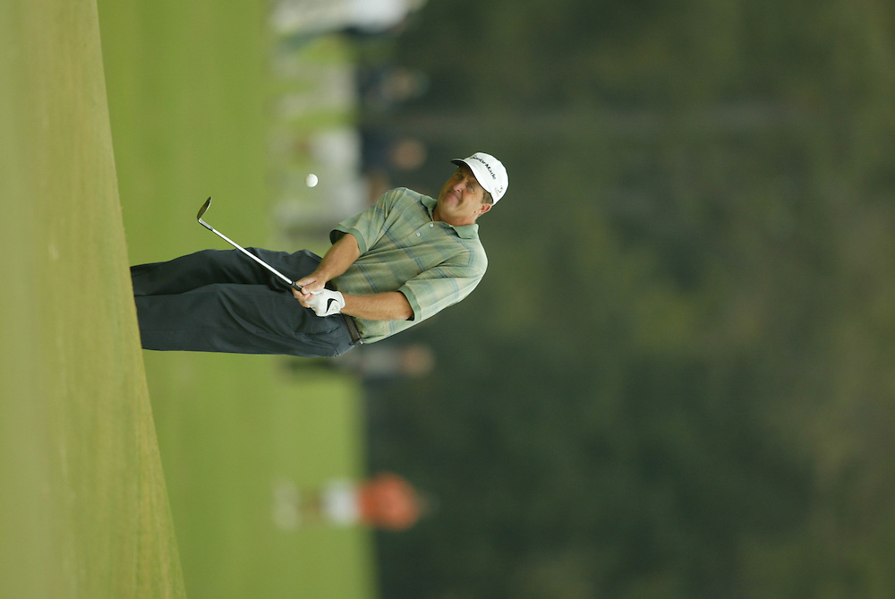 Fred Funk.2003 Tour Championship.Third Round.Champions Golf Club.Houston, TX.November 8, 2003..photograph by Darren Carroll