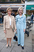 EMILY FRICK; ANN NITSE.  The Pimlico Road Summer party. London SW1. 9 June 2009