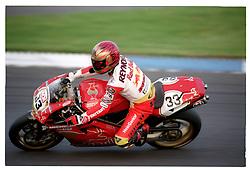 JOHN REYNOLDS RED BULL DUCATI, British Superbike Championship Donington 1997SUPERBIKES DONINGTON 28 SEPT 1997