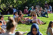 SCU Presents Jazz on the Lawn at Santa Clara University in Santa Clara, California, on June 1, 2019. (Stan Olszewski/SOSKIphoto)